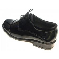 2073 Zarro buty komunijne chłopiece lakierowane