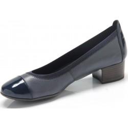 Marco Tozzi buty damskie granatowe