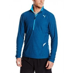 513072 03 Puma L/S 1/2 Zip Heather Bluza męska