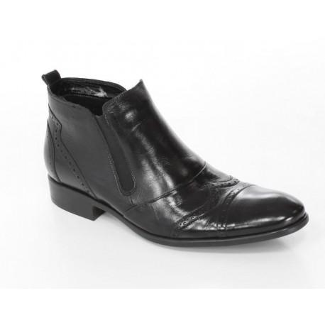 294 Pilpol buty męskie czarne