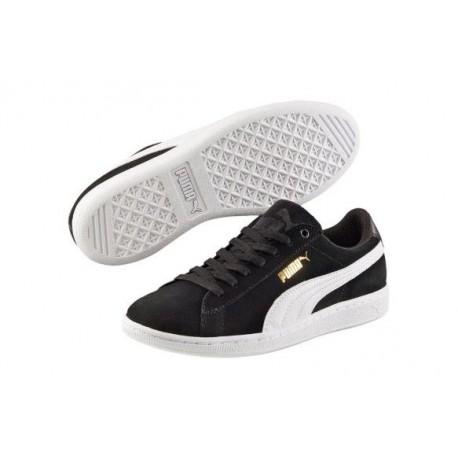 szczegóły na stopach zdjęcia najtańszy puma buty damskie vikky 362624 02 czarne ze skóry naturalnej nubukowej