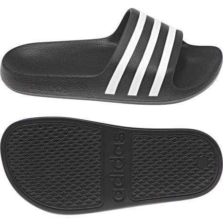 adidas klapki basenowe z wkładką cloudfoam czarne