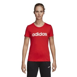 adidas DU0631 koszulka damska czerwona