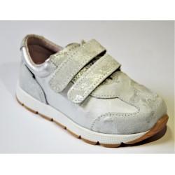 Buty dziewczęce Mazurek srebrne