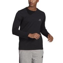 Bluza męska adidas M WWS LS T czarna