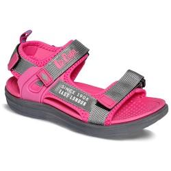 Lee Cooper sandałki dziecięce różowe