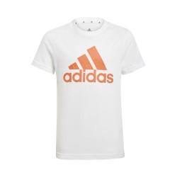 Koszulka adidas dziecięca biała