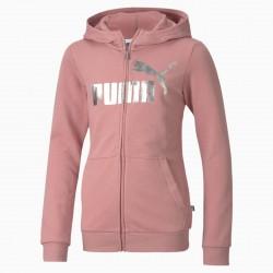 Bluza dziecięca Puma różowa