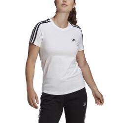 Koszulka damska adidas W 3S T biała