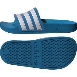 Klapki na basen adidas ADILETTE AQUA K niebieskie